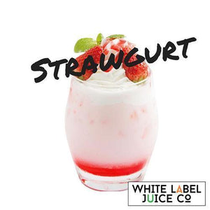 Strawgurt - 100ml from White Label Juice Co. at MaxVaping