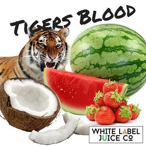 Tiger's Blood - 100ml 0mg - 100ml by White Label Juice Co. at MaxVaping
