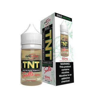 TNT Menthol 24mg - 30ml Gold by Innevape at MaxVaping