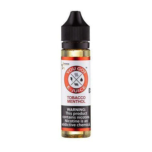 Tobacco Menthol 0mg - 60ml by You Got e-Juice at MaxVaping