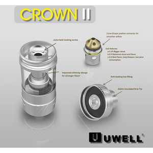 Uwell Crown II Sub-Ohm Tank at MaxVaping