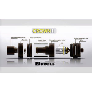 Uwell Crown II Sub-Ohm Tank  - MaxVaping