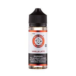 Vanilla Latte 0mg - 120ml by You Got e-Juice at MaxVaping