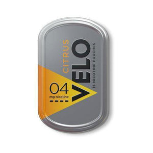 VELO Nicotine Pouches - 15 per Box Citrus - 4% Nic by VELO at MaxVaping