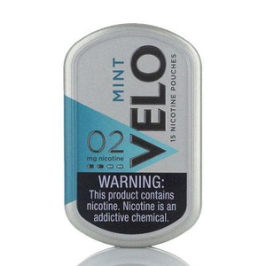 VELO Nicotine Pouches - 15 per Box Mint - 2% Nic by VELO at MaxVaping