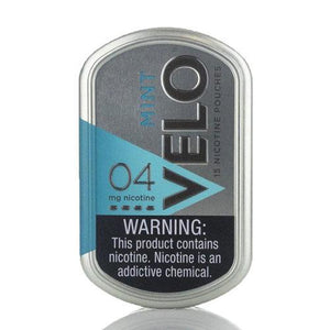 VELO Nicotine Pouches - 15 per Box Mint - 4% Nic by VELO at MaxVaping