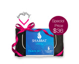 Shabbat Away Travel Set™ for EMUNAH B'SIMCHA (only)