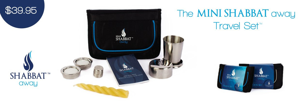 MIni Shabbat Away Travel Set