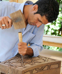 Artisan: Nasser Mansoori - Handmade products from Afghanistan