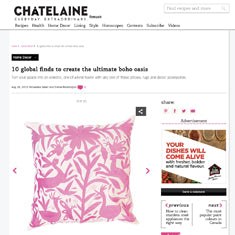 Chatelaine - Otomi Pillow