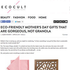 Ecocult - Mothers Day Gifts