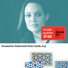 Angelina Holiday Gift Guide - Geometric Note Cards