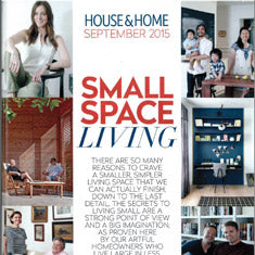 House and Home - Small Space Living