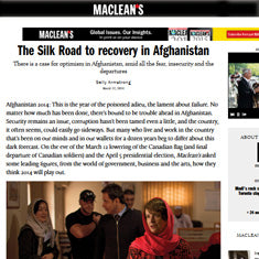 MacLeans - Recovering Afghanistan