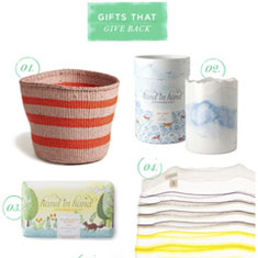 Oh Joy Gift Guide - African Basket