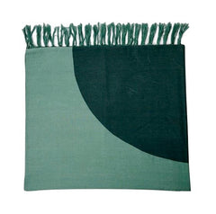 Green Circle Towel - India