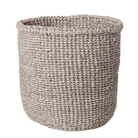 Solid grey basket - Small