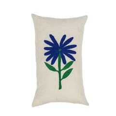 Blue Flower Kidney Pillow - Mexico