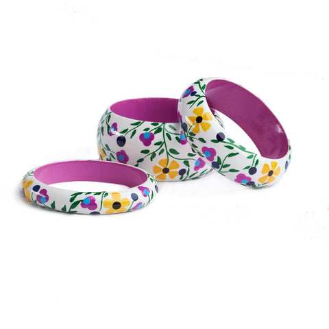 Floral Bangles - India