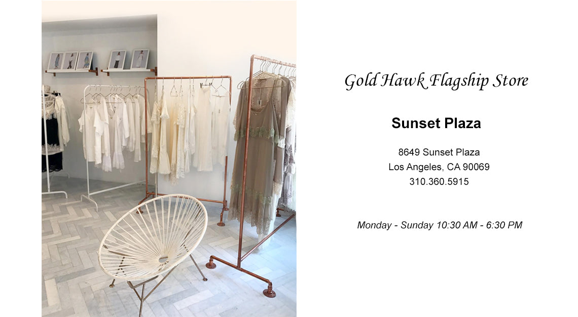 Gold Hawk Flagship Store Sunset Plaza
