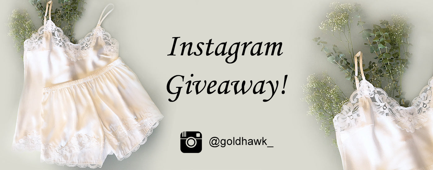 Gold Hawk Clothing Instagram Giveaway