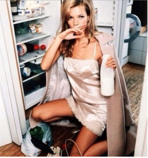Kate Moss Gold Hawk