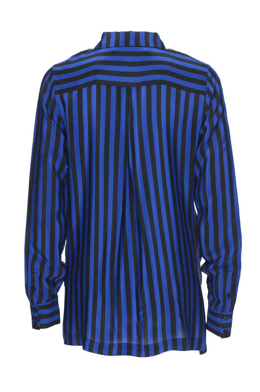 Cross Front Stripe Shirt