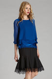 Double Layer Silk Top