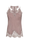 The Zoe Coco Camisole in muted rose.