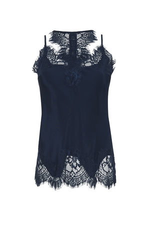 The Zoe Coco Camisole in navy.