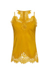 The Zoe Coco Camisole in gold.