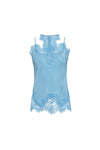 The Zoe Coco Camisole in baby blue.