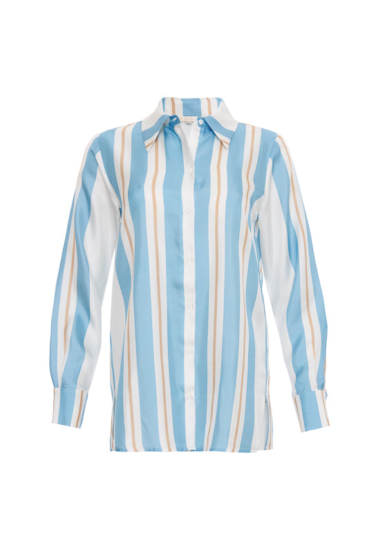 cd45588c04eb5 The Bold Stripe Shirt in baby blue.