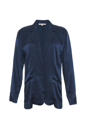 The Hayley Blazer in navy.