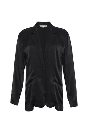 The Hayley Blazer in black.