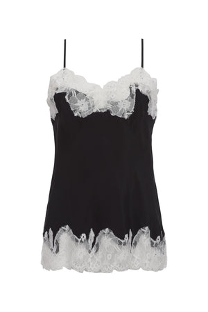 Contrast Marilyn Lace Silk Cami