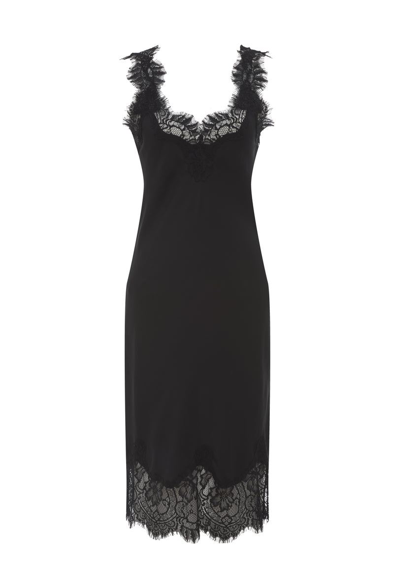 The Megan Coco Dress in black.