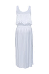 The Hayley Tank Dress in bright white.