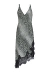 The Python Coco Dress in grey python.