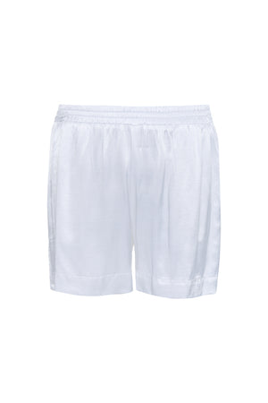 The Hayley Short in bright white.