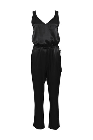The Hayley Jumpsuit in black.