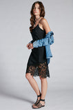 Anjelica Lace Slip Dress