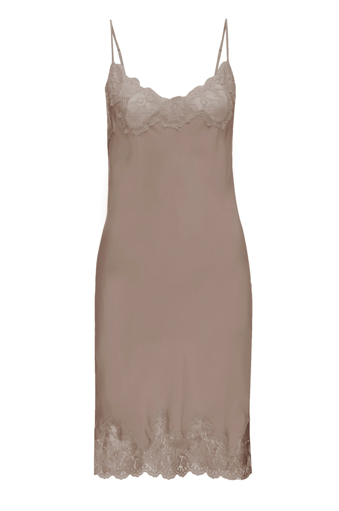 Marilyn Lace Slip Dress