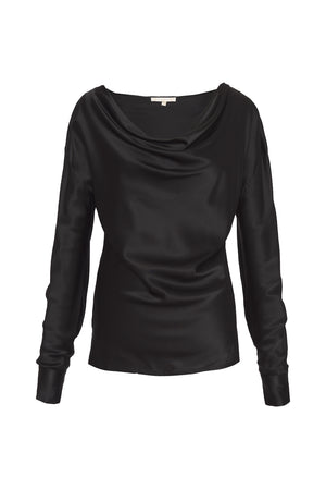 Long Sleeve Cowl Top