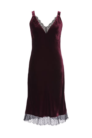 Lacey Velvet Dress
