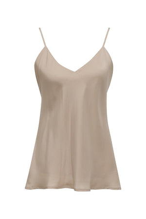 Double Silk Solid Cami