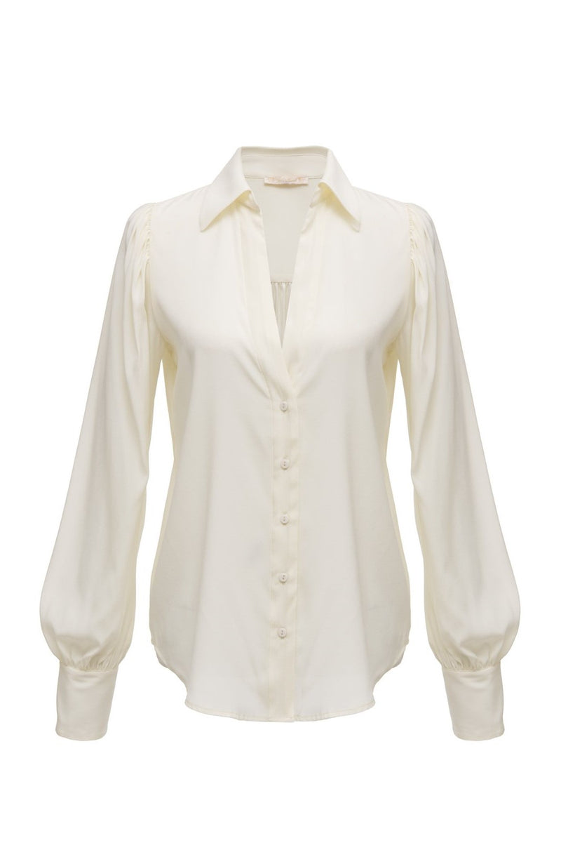 Jocelyn Glam Shirt Dove