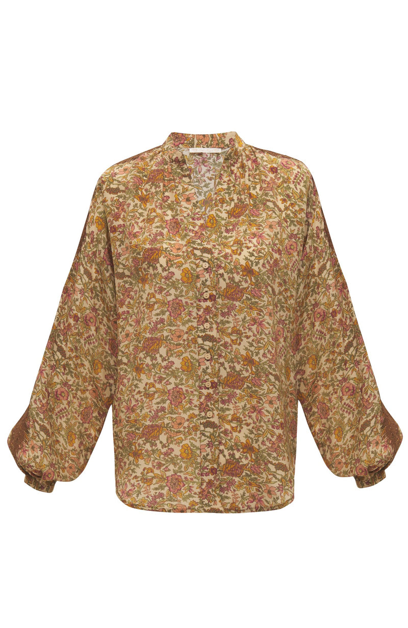 Bali Floral Long Sleeve Shirt