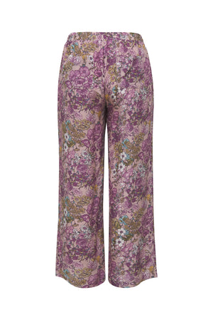 Tropical Pant Muted Rose