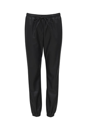 Faux Leather Jog Pant